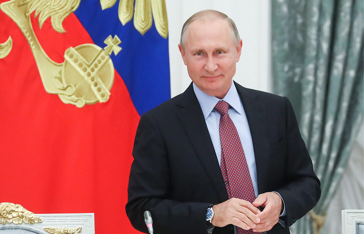 """Путин: фестиваль журналистов """"Вся Россия"""" стал востребованным временем мероприятием"""