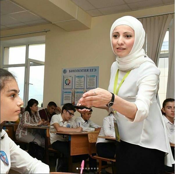 Чеченский конкурс учитель года