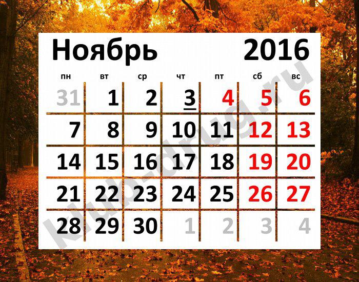 Праздники в ноябре в башкирии