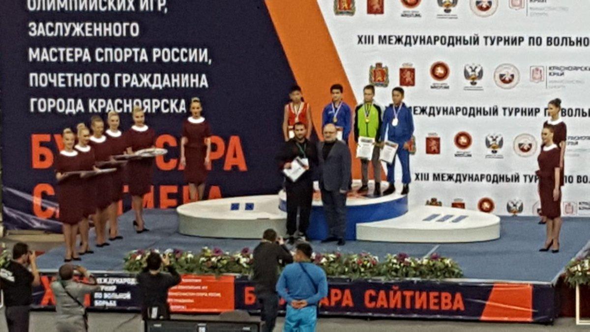 Кемеровские борцы завоевали медали на интернациональных соревнованиях