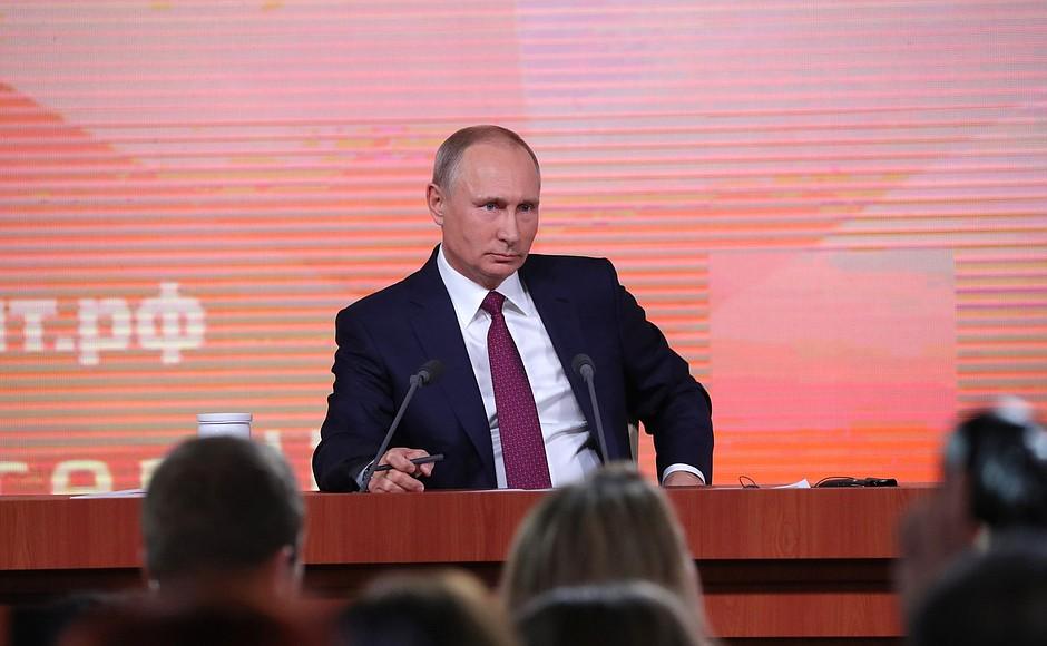 Экономика растет, преодолев два шока— Путин