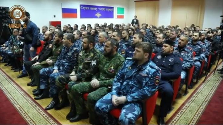 Кадыров назначен главой милиции Грозного