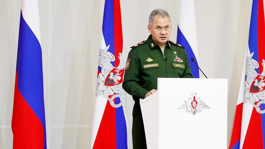 Шойгу оповестил Путину овыполнении указа овыводе русских войск изСирии