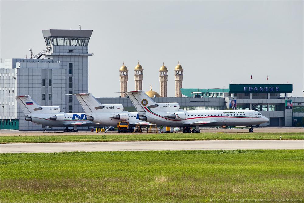 Грозненский аэропорт готовится принять сборную Египта по футболу