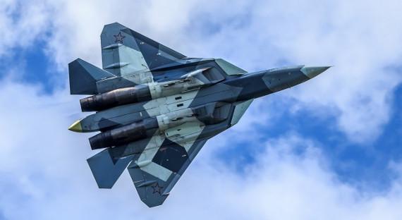РФснова перекинула вСирию два истребителя Су-57