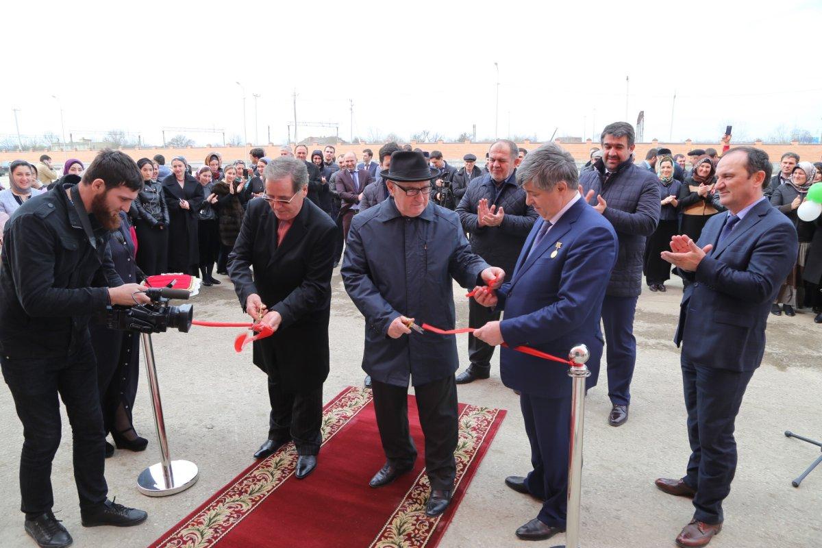 ВГрозном открылся 1-ый вЧечне индустриальный парк