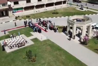 М. Хучиев: «Шахматный» сквер в Грозном готов принимать своих посетителей