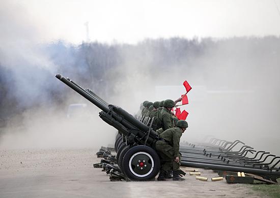 Артиллеристы  в Чечне провели более 30 тактических учений
