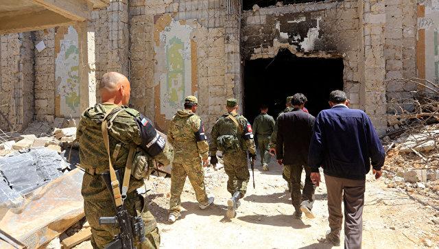 Батальон  военной полиции вернулся из Сирии в Чечню без потерь