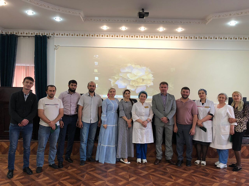 В Грозном прошел сертификационный цикл по анестезии и реанимации