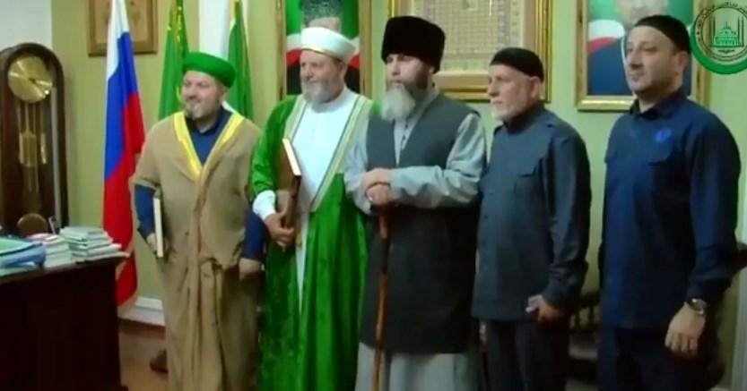 Муфтии Чечни и Волгоградской обл. обсудили пути развития сотрудничества