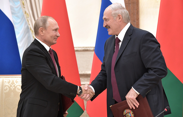 Главы России и Белоруссии договорились расширять и укреплять стратегическое партнерство
