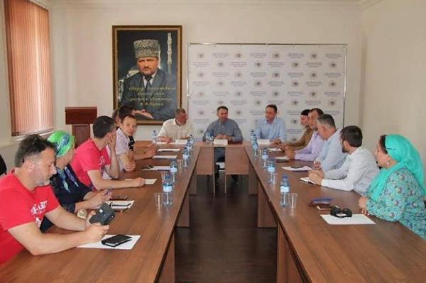 Делегация Псковской области прибыла в Чеченскую Республику