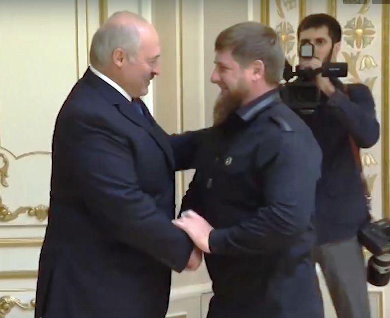 Р. Кадыров поздравил белорусский народ с Днем независимости