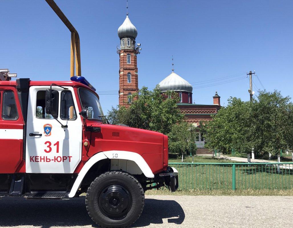 Имамы мечетей Чечни взялись за профилактику пожаров