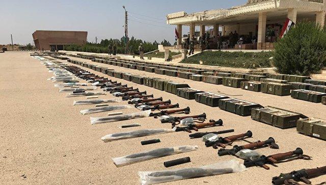 Сирия: боевики оставили бронетехнику и боеприпасы в провинции Дераа