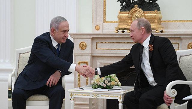 Нетаньяху ответил Сирии насбитый беспилотник