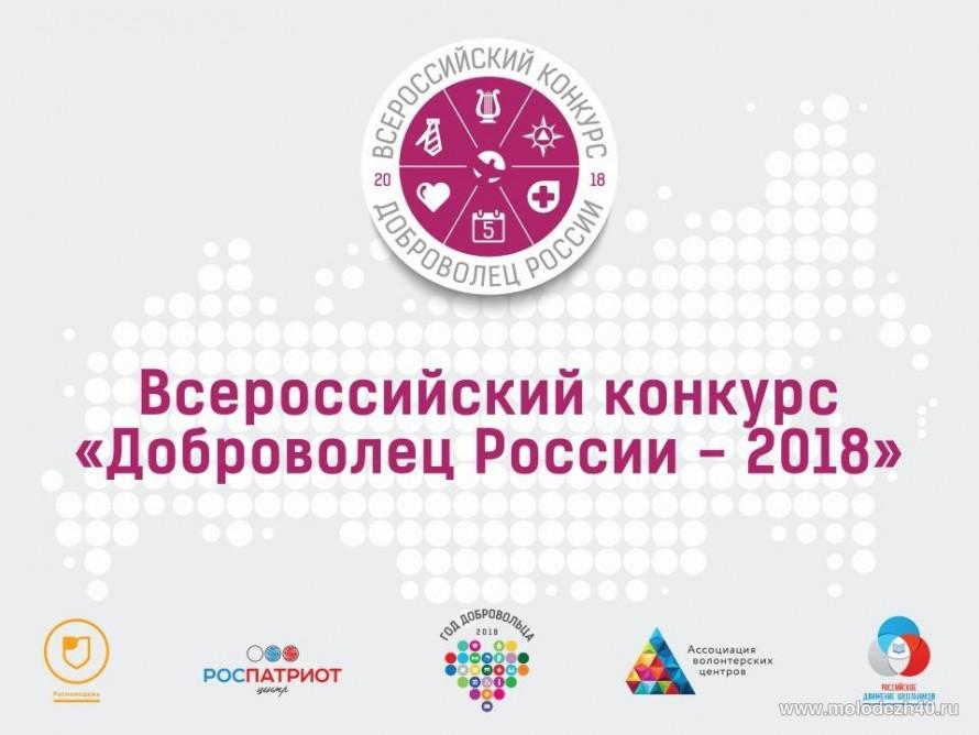 Псковичи могут принять участие воВсероссийском конкурсе «Доброволец Российской Федерации 2018»