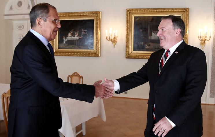 Помпео: встреча Трампа и В. Путина отвечает интересам США