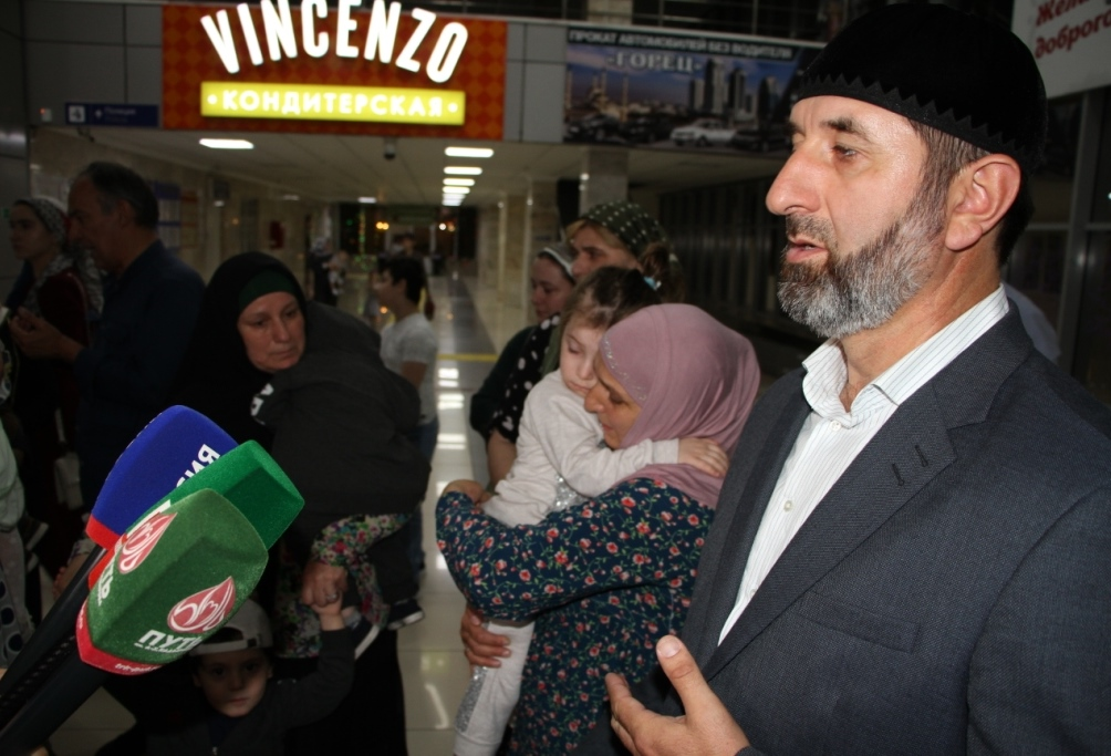 В Российскую Федерацию вернули 30 детей, матери которых находятся втюрьмах Ирака